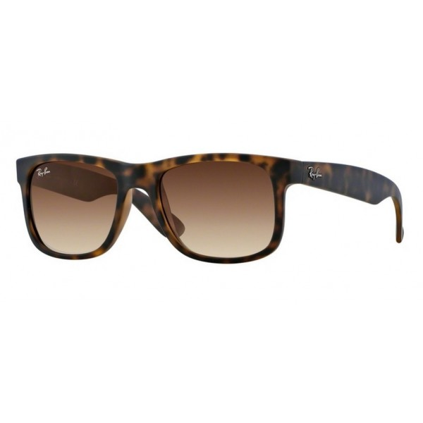 Ray-Ban RB 4165 JUSTIN 710/13 RUBBER LIGHT HAVANA