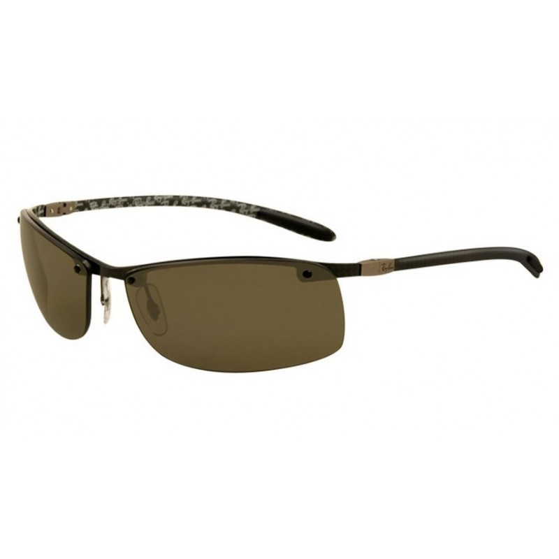 865093ca64 Ray-Ban RB 8305 122-9A Carbon Fibre Polarized Carbon Dark Black
