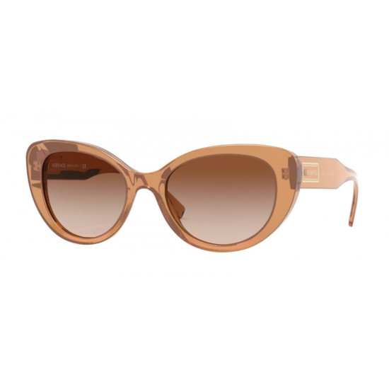 Versace VE 4378 - 532613 Transparent Brown | Sunglasses Woman