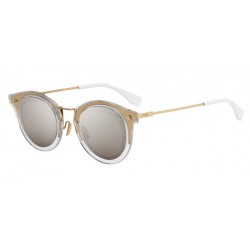 Fendi FF M0044-G-S J5G GY Gold - Yellow