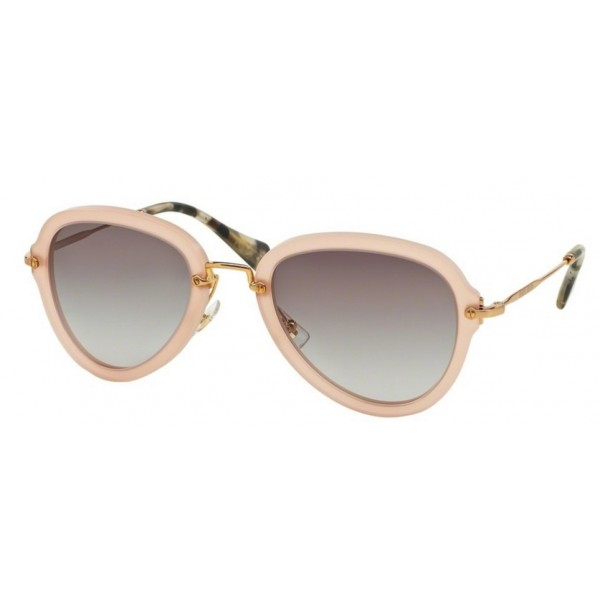 Miu Miu MU 03QS TV13E2 Sand Opal Antique Pink