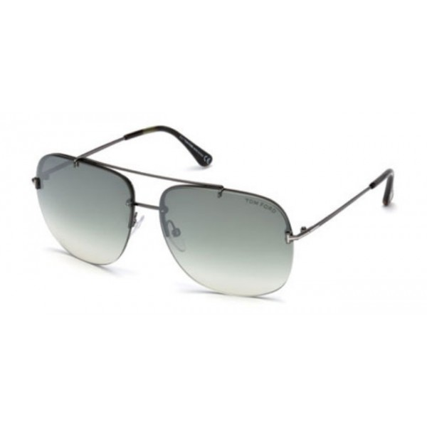 Tom Ford FT 0620 Shelby-02 08Q Shiny Anthracite