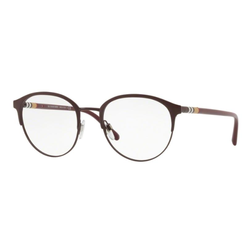 d5d07f67e7b1 Burberry BE 1318 - 1250 Matte Bordeaux | Eyeglasses Man