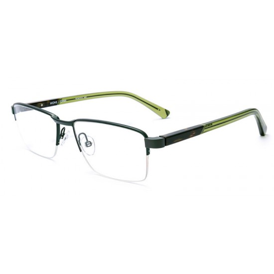 Etnia Barcelona MONS - GRBR Green Brown | Eyeglasses Man