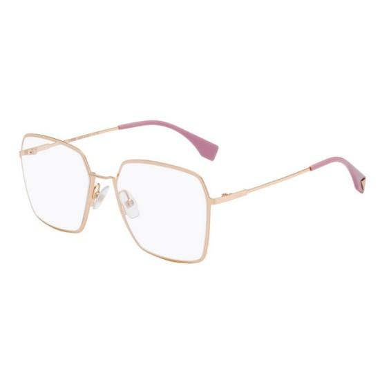Fendi FF 0333 - DDB Copper Gold | Eyeglasses Woman