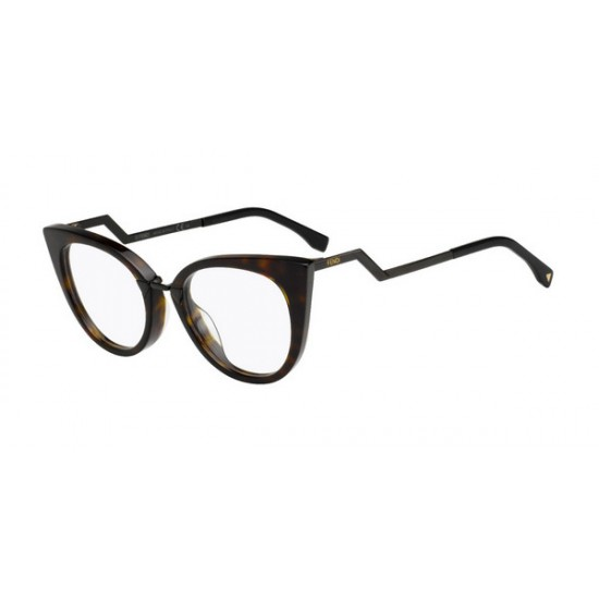 Fendi FF 0119 RZU Dark Havana-Brown