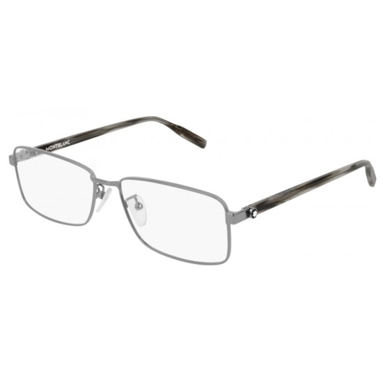 Montblanc MB0016O - 003 Ruthenium | Eyeglasses Man