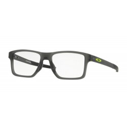 Oakley OX 8143 CHAMFER SQUARED 814302 SATIN GREY SMOKE