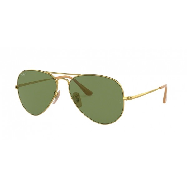 Ray-Ban RB 3689 Aviator Metal Ii 9064O9 Gold