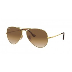 Ray-Ban RB 3689 Aviator Metal Ii 914751 Gold