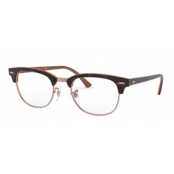 Ray-Ban RX 5154 Clubmaster 5884 Top Havana On Brown