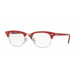 Ray-Ban RX 5154 Clubmaster 5651 Red On Texture Camuflage