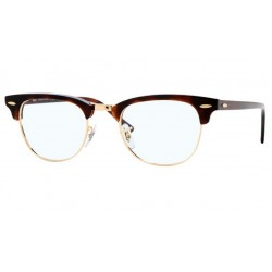Ray-Ban RX 5154 Clubmaster 2372 Red Havana