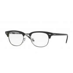 Ray-Ban RX 5154 Clubmaster 5649 Black On Texture Camuflage