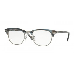 Ray-Ban RX 5154 Clubmaster 5750 Blue-grey Stripped