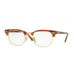 Ray-Ban RX 5154 Clubmaster 5751 Brown / Beige Stripped