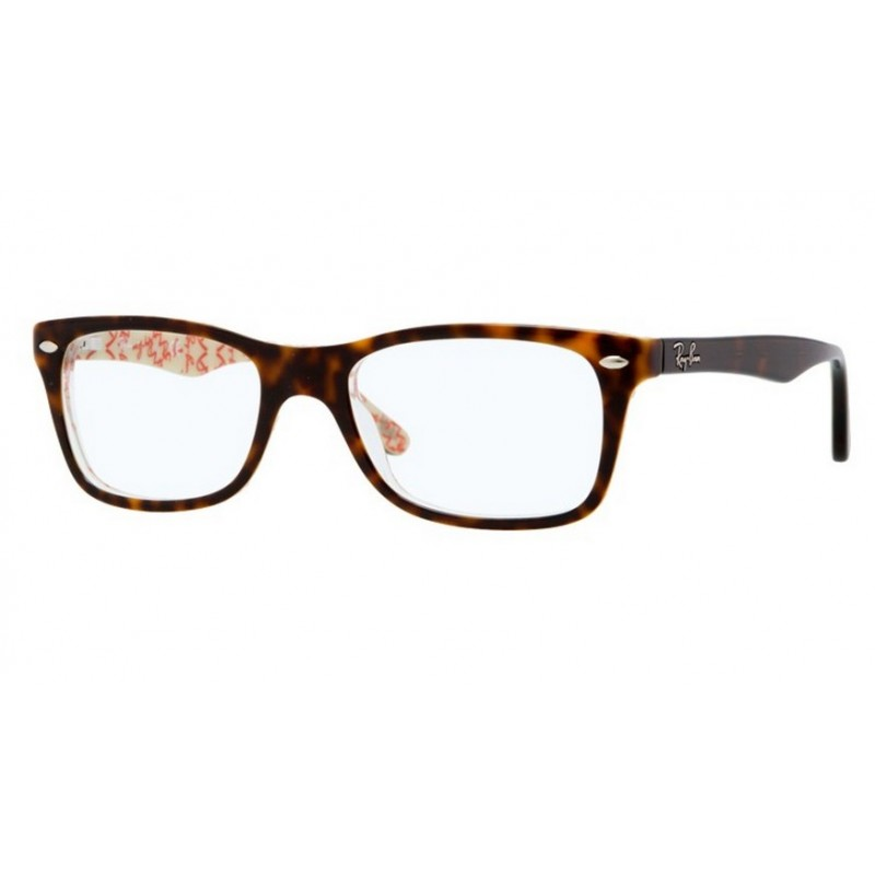 26b19bc8ec Ray-Ban RX 5228 - 5057 Top Dark Havana On Beige Text