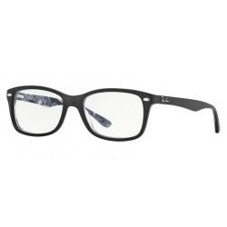 Ray-Ban RX 5228 5405 Black Texture Camuflag