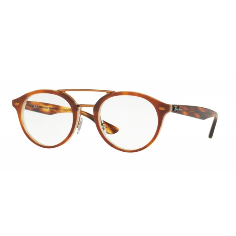 0aef49e22d4ceb Ray-Ban RX 5354 5677 Top Brown Havana Horn Beige