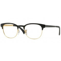 Ray-Ban RX 6317 2833 Top Black On Matte Gold