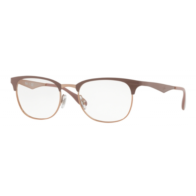 cfc69c0a38a Ray-Ban RX 6346 - 2973 Copper On Top Light Brown