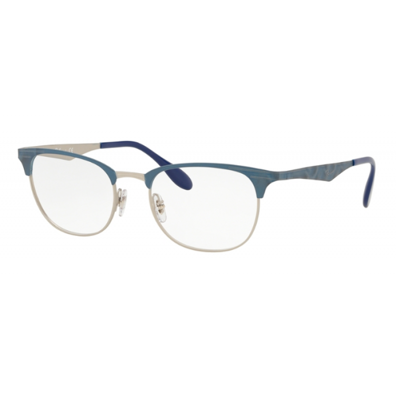 8d6e551fcd7 Ray-Ban RX 6346 - 3022 MT SILVER TOP MATTE BLUE MOVE