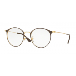 Ray-Ban RX 6378F - 2905 Gold-shiny Brown