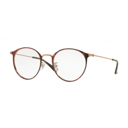 Ray-Ban RX 6378F - 2971 Copper On Top Havana