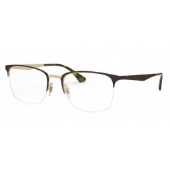 Ray-Ban RX 6433 - 3001 Top Matte Havana On Pink Gold