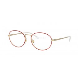 Ray-Ban RX 6439 - 3052 Matt Red On Rubber Gold