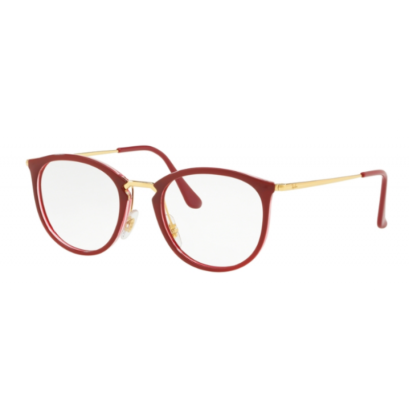 bbb865a45e9 Ray-Ban RX 7140 - 5854 TRANSPARENT ON TOP AMARANTH