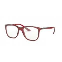 Ray-Ban RX 7143 5773 Transparent Red