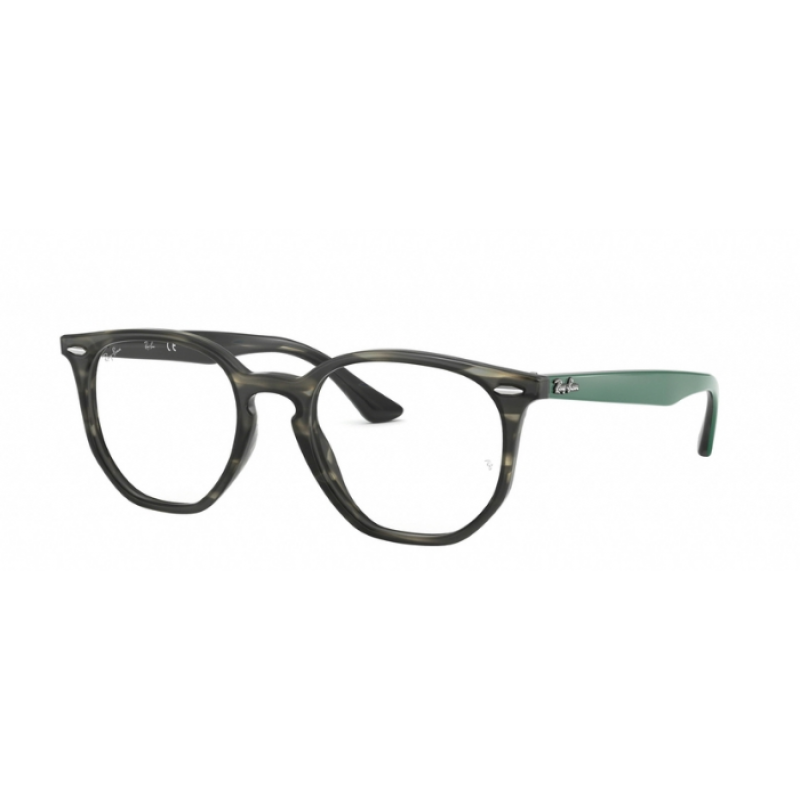 b6fe56a7003 Ray-Ban RX 7151 - 5800 GREY GREEN HAVANA