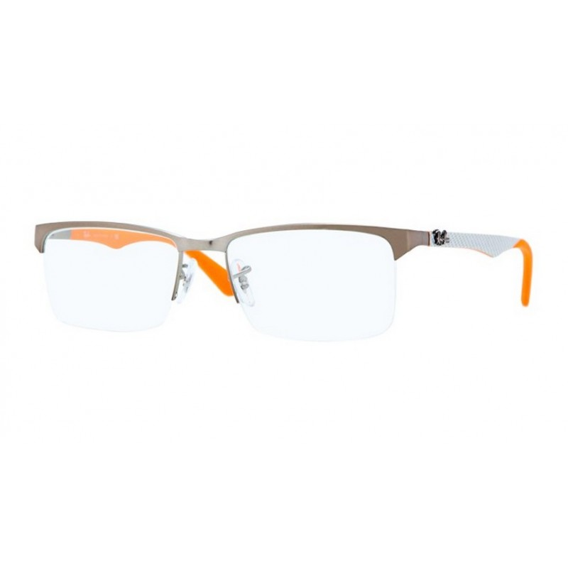 0a7e7f18af Ray-Ban RX 8411 2761 Carbon Fibre Gunmetal Matt Orange