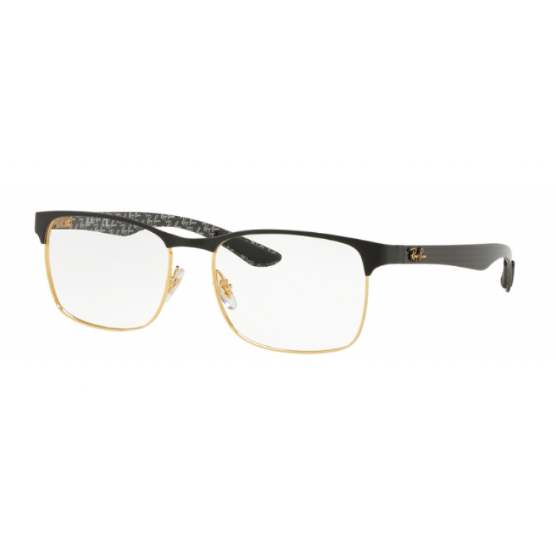 a6a3d54dff Ray-Ban RX 8416 - 3014 GOLD ON TOP MATTE BLACK