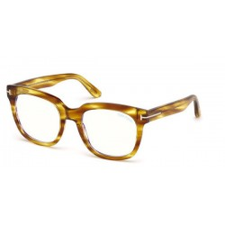 Tom Ford FT 5537-B 045 Light Brown Polished