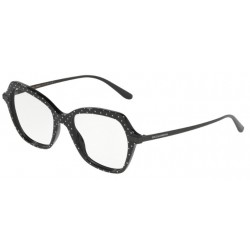 Dolce & Gabbana DG 3311 - 3126 Pois White On Black