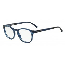 Giorgio Armani AR 7074 5402 Striped Matte Blue