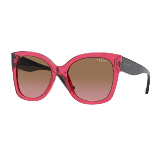 Vogue VO 5338S - 283114 Transparent Cherry | Sunglasses Woman